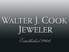 Walter J Cook Jeweler